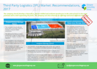 10 Third Party Logistics 3PL Market Recommendations, 2017